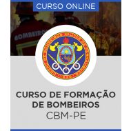 Curso Online CBM-PE – Formação e Habilitação de Praças Bombeiro Militar