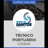 Curso Online CODESP - SP – Técnico Portuário (Administrativo)