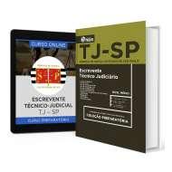 Combo TJ - SP - Escrevente Técnico Judiciário + Curso Online