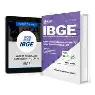 Combo IBGE - Agente Censitário Administrativo + Curso Online