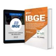 Combo IBGE - Comum aos Cargos de Analista + Curso Online