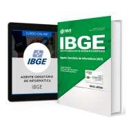 Combo IBGE 2017 - Apostila + Curso Online para Agente Censitário de Informática
