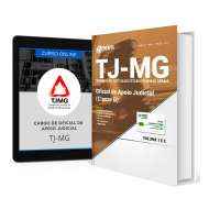 Combo TJ-MG - Oficial de Apoio Judicial (Classe D) + Curso Online