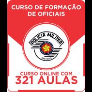 Curso Online PM - SP 2016 - Curso de Formação de Oficiais + Simulados