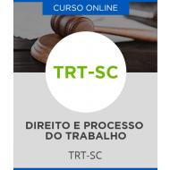 Curso Online TRT-SC - Direito e Processo do Trabalho