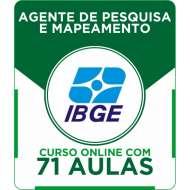 Curso Online IBGE - Agente de Pesquisa e Mapeamento + Simulados