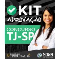 Kit Aprovação TJ-SP - Escrevente Técnico Judiciário - Frete Grátis