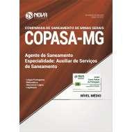 Apostila COPASA - MG 2017 - Auxiliar de Serviços de Saneamento