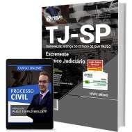 Apostila TJ-SP - Escrevente Técnico Judiciário