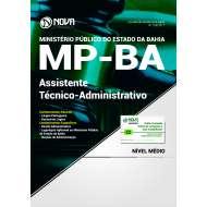 Apostila MP BA - Assistente Técnico Administrativo
