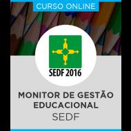 Curso Online SEDF - Monitor de Gestão Educacional