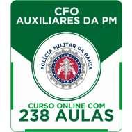 Curso Online PM-BA - CFO Auxiliares da PM + Simulados