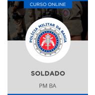 Curso Online PM - BA - Soldado da Polícia Militar da Bahia