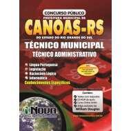 Técnico Municipal - Técnico Administrativo (Impressa)