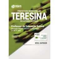Apostila Prefeitura de Teresina-PI - Professor de Educação Básica