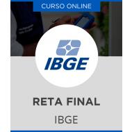 Curso Online IBGE - Reta Final