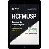 Download Apostila Hospital das Clínicas (HCFMU) SP Pdf - Técnico de Enfermagem