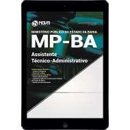 Download Apostila MP BA Pdf - Assistente Técnico Administrativo