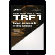 Download Apostila TRF 1ª Região Pdf - Comum aos cargos de Técnico Judiciário