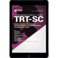 Download Apostila TRT-SC (12ª Região) Pdf - Analista Judiciário - Área Judic: S/ Especialidade e Especialidade Oficial de Justiça Avaliador Federal