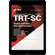 Download TRT-SC (12ª Região) Pdf - Técnico Judiciário - Área Administrativa