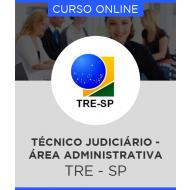 Curso Online TRE-SP - Técnico Judiciário - Área Administrativa + Simulados