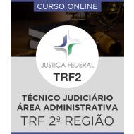 Curso Online TRF 2ª Região - Técnico Judiciário - Área Administrativa