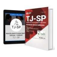 Combo TJ - SP 2017 – Assistente Social Judiciário + Curso Online