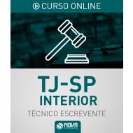 Curso Online TJ-SP Interior - Escrevente