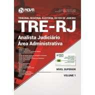 Apostila TRE-RJ 2017 - Analista Judiciário - Área Administrativa