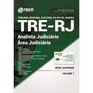Apostila TRE-RJ 2017 - Analista Judiciário - Área Judiciária