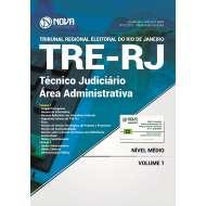 Apostila TRE-RJ 2017 - Técnico Judiciário - Área Administrativa