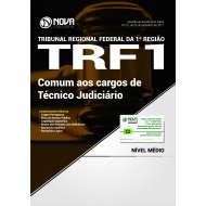 Apostila TRF 1ª Região - Comum aos cargos de Técnico Judiciário