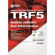 Apostila TRF 5 - Analista Judiciário - Área Administrativa