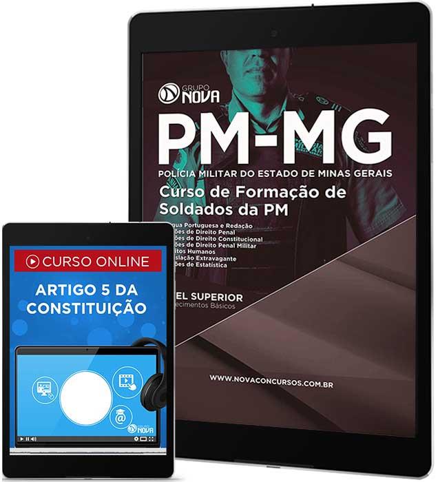Download Apostila PM MG Pdf - Curso de Formação de Soldados