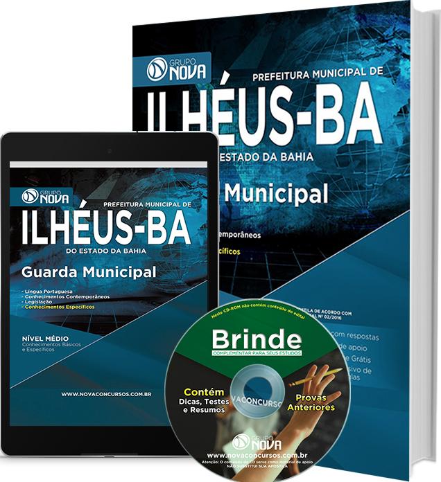 Apostila Prefeitura de Ilhéus - BA 2016 - Guarda Municipal