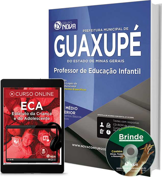 Apostila Guaxupé - Professor de Educação Infantil