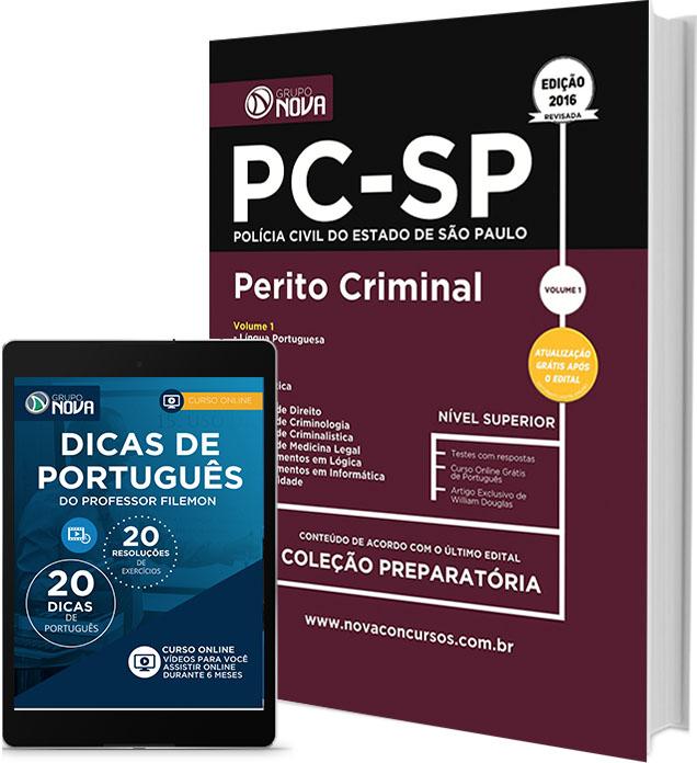 Apostila PC - SP - Perito Criminal