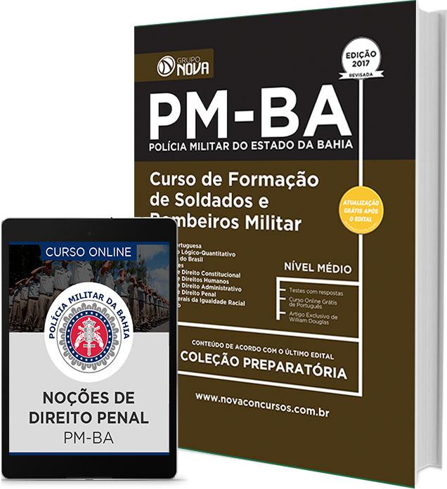 Apostila Polícia Militar BA 2017 Impressa gratis PDF