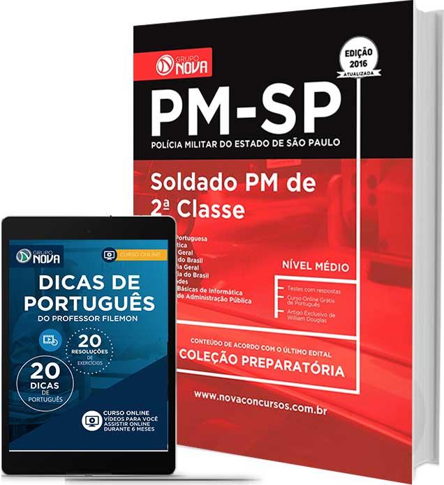 Apostila PM SP - Soldado 2ª Classe da Polícia Militar