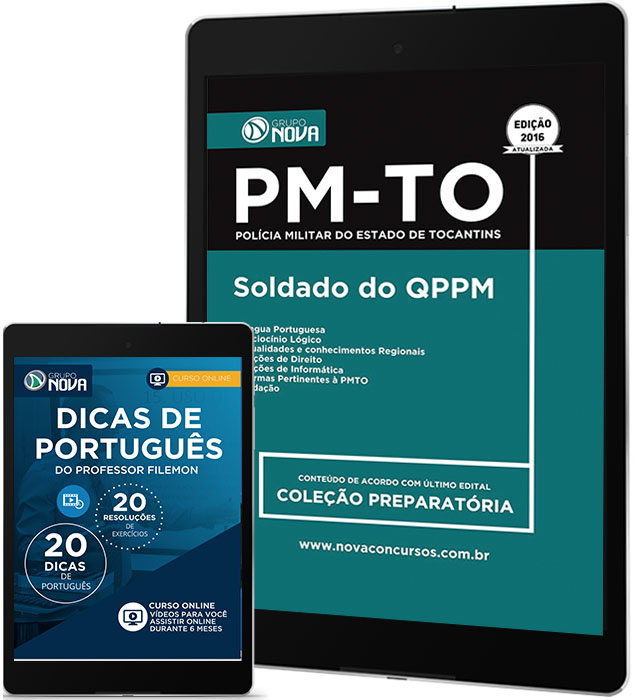 Apostila PM - TO Pdf - Soldado do QPPM ( Digital )