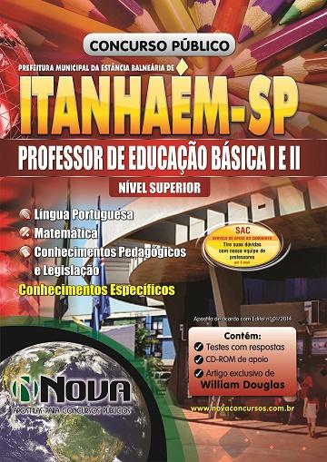 Apostila Prefeitura de Itanhaém para Professor de Educação Básica I e II