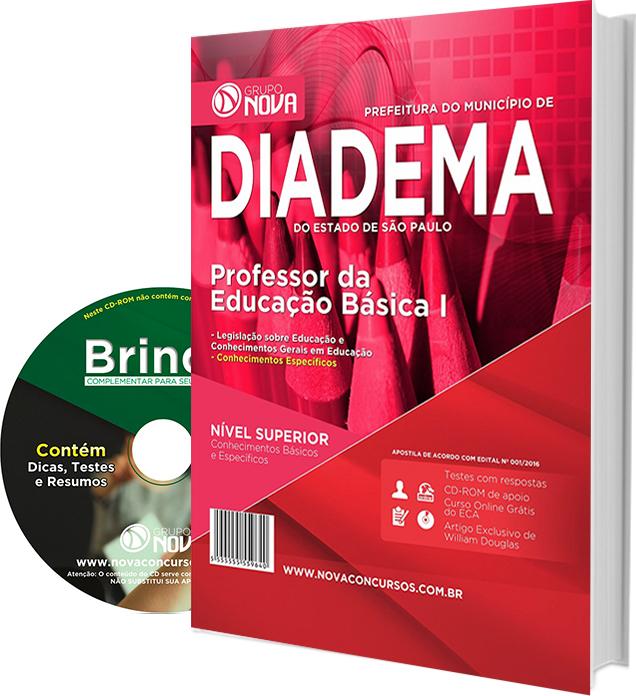 Apostila Prefeitura de Diadema Professor da Educação Básica