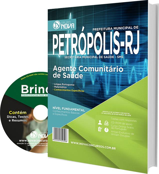 Apostila Prefeitura de Petrópolis - Agente Comunitário de Saúde.