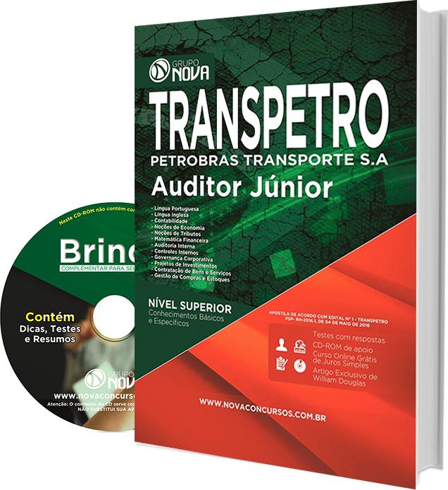 Apostila TRANSPETRO (Petrobras Transporte S.A) 2016