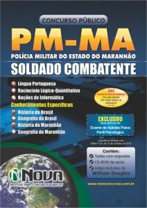 Apostila Para  Soldado Combatente da Polícia Militar do Maranhão