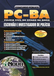 Apostila Concurso Pc Ba 2013 Escrivão e Investigador