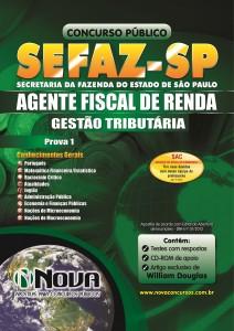 Apostila Sefaz - SP 2013 - Agente fiscal de Renda Sefaz