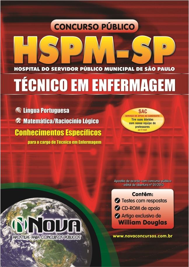 Apostila Técnico de Enfermagem do Hsmp Sp 2013