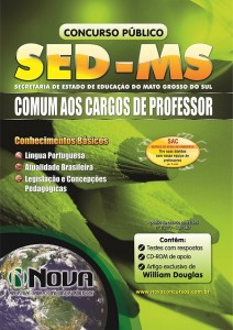 Apostila Concurso SED - MS - Secretaria de Educação do mato Grosso o Sul - Comum aos cargos de Professor